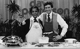 Della Reese on the Dave Patterson Show with the host, March 17, 1980
