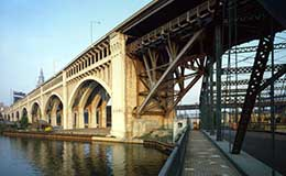 Detroit-Superior Bridge, 1978