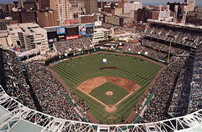 Jacobs Field, Opening Day, 1994